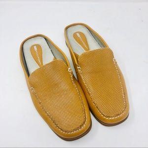 Rockport | Leather Sandra Mules Size 9